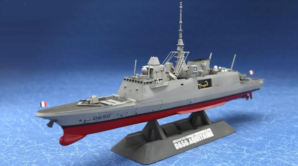 Freedom Model Ships 1/700 D650 Aquitaine Fremm Multi-Purpose Frigate Kit