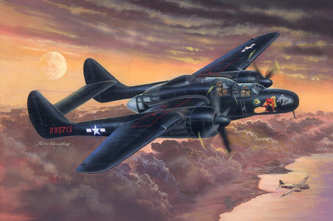 Hobby Boss Aircraft 1/32 P-61B Black Widow Kit