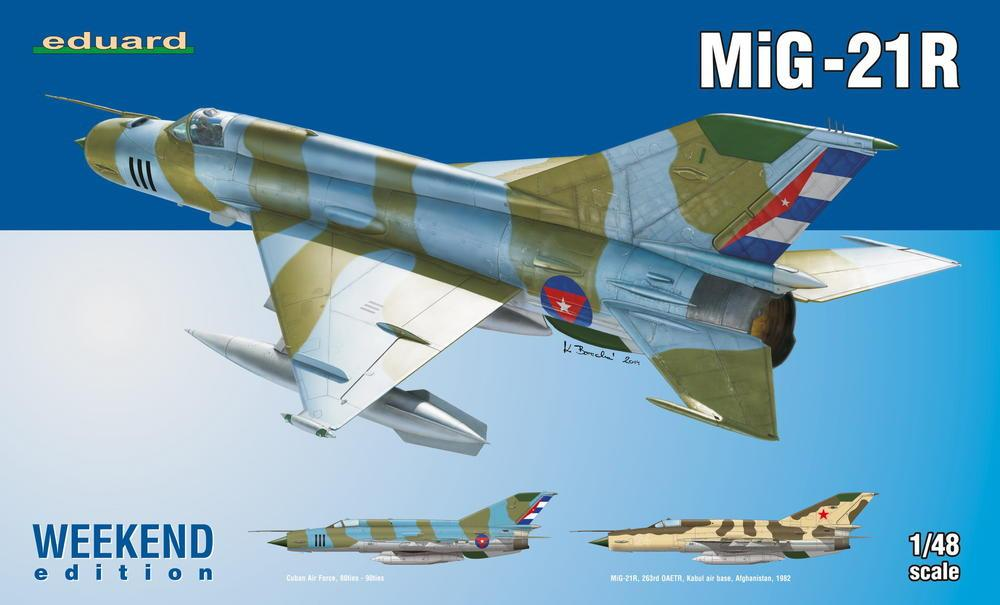 Eduard Aircraft 1/48 MiG21R Fighter Wkd Edition Kit