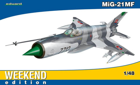 Eduard 1/48 MiG21MF Fighter Wkd Edition Kit