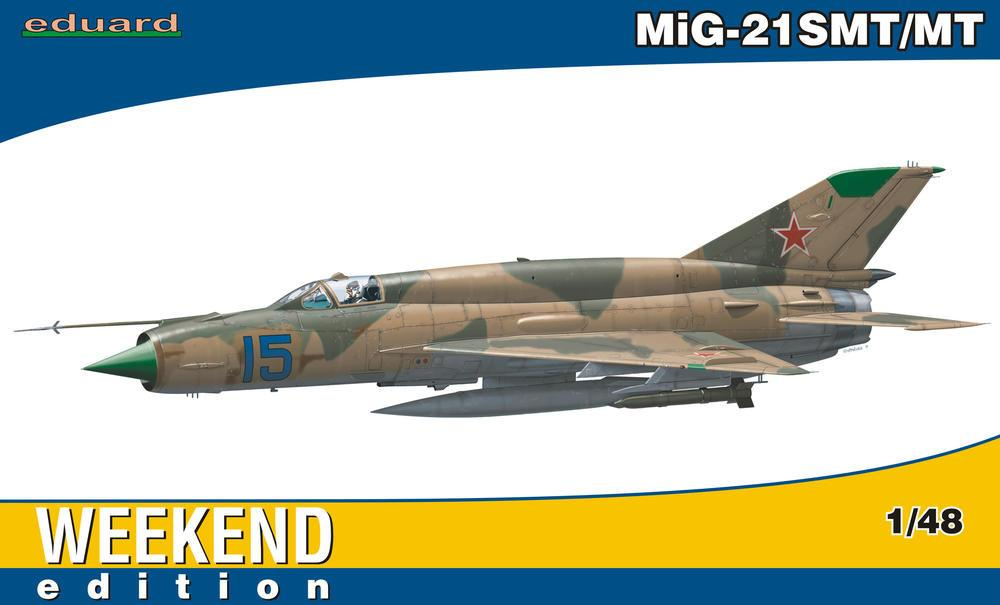 Eduard 1/48 MiG21SMT/MT Fighter Wkd Edition Kit