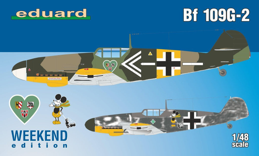 Eduard 1/48 Bf109G2 Fighter Wkd Edition Kit