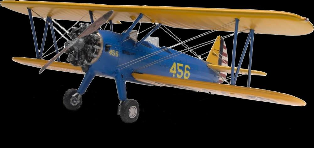 Revell-Monogram Aircraft 1/48 Stearman PT17 BiPlane Kit