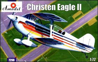 A Model From Russia 1/72 Christen Eagle II 2-Seater American Sport Plane Kit