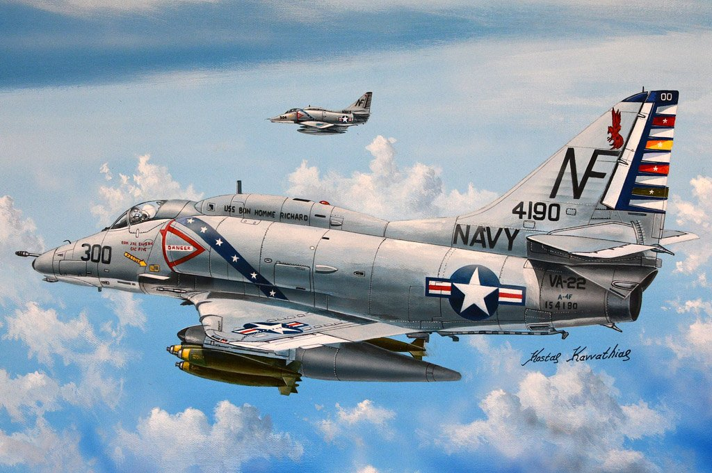 Hobby Boss 1/72 A-4F Sky Hawk Kit