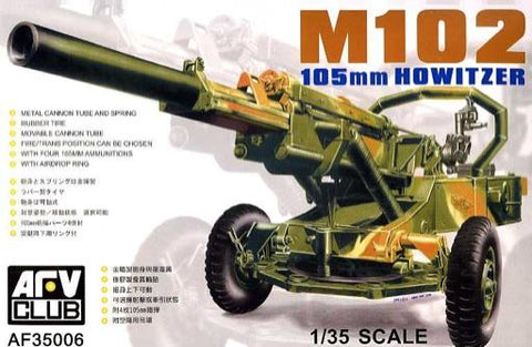 AFV Club Military 1/35M-102 105mm Howitzer Kit