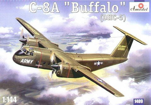 A Model 1/144 C8A Buffalo (DHC5) USAF Transport Aircraft Kit