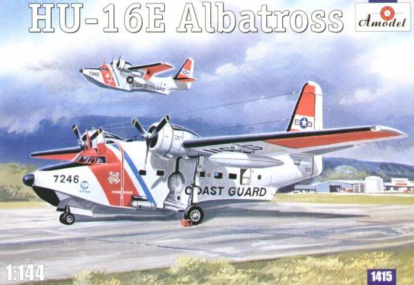 A Model 1/144 HU16E Albatros US Coast Guard Amphibian Aircraft Kit