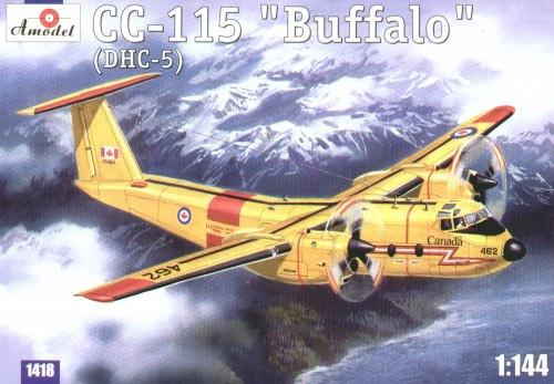 A Model 1/144 CC115 Buffalo (DHC5) Canadian AF Transport Aircraft Kit