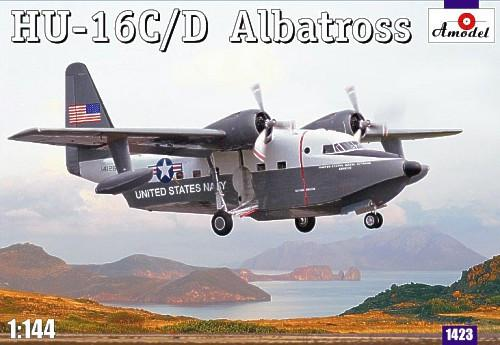 A Model 1/144 HU16C/D Albatross US Navy Amphibian Aircraft Kit