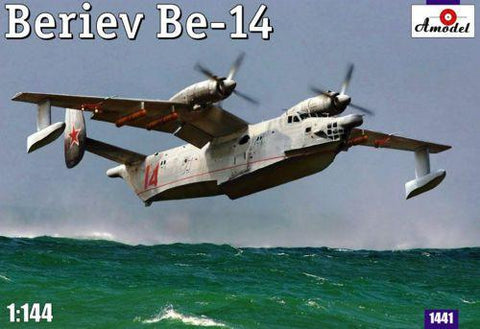 A Model 1/144 Be14 Soviet Amphibious ASW Aircraft Kit