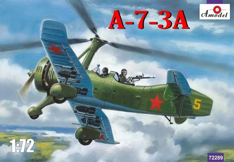 A Model From Russia 1/72 A7-3A Soviet Autogiro Fighter/Bomber Kit
