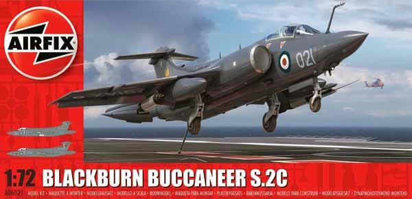 Airfix 1/72 Blackburn Buccaneer S Mk 2 RB Aircraft Kit