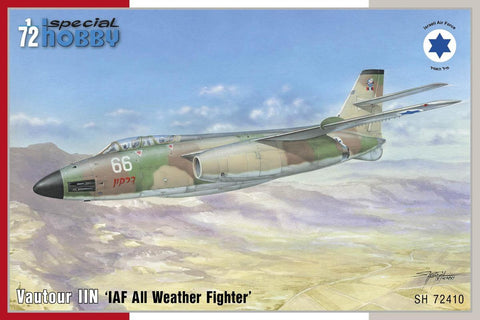 Special Hobby 1/72 Vautour IIN IAF All-Weather Fighter Kit