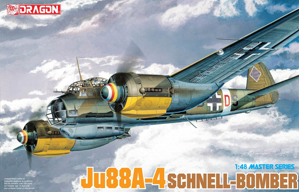 Dragon 1/48 Ju88A4 Schnell Bomber Kit