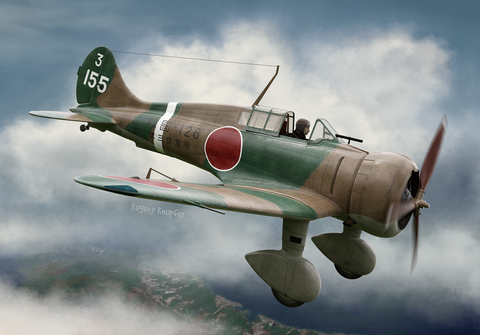 Clear Prop 1/72 A5M2b Claude Early Version Japanese Fighter (Expert) Kit