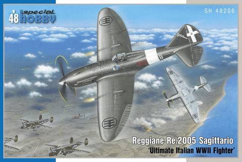 Special Hobby 1/48 WWII Reggiane Re2005 Sagittario Ultimate Italian Fighter Kit