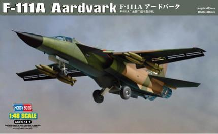Hobby Boss Aircraft 1/48 F-111A Aardvark Kit