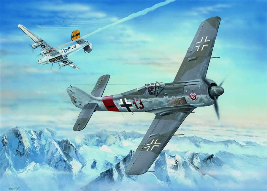 Hobby Boss Aircraft 1/18 Focke Wulf Fw190-8 Kit
