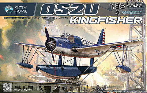 Kitty Hawk 1/32 OS2U Kingfisher Floatplane Kit