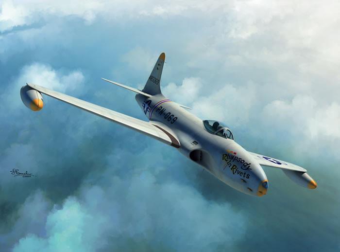 Sword Aircraft 1/72 P80A/B USAF Fighter Kit