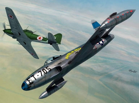 Sword Aircraft 1/72 P80C & IL10 Fighter Over Korea (2 in 1) Kit
