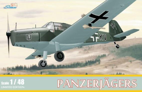 Stransky 1/48 Bucker Bu181 Bestman Panzerjagers WWII German Trainer Ltd. Edition Kit