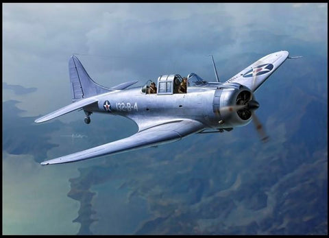 Academy Aircraft 1/48 SBD-1 Dauntless Kit