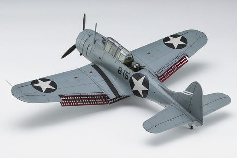 Hasegawa Aircraft 1/48 SBD3 Dauntless Aircraft Battle of Midway Ltd Edition Kit