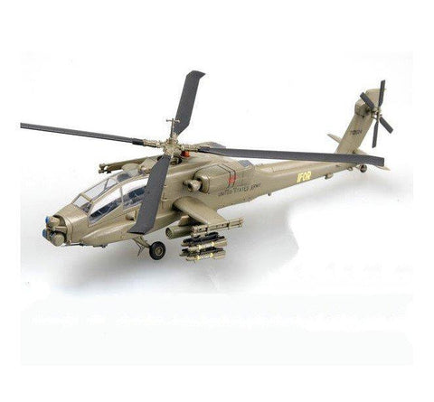 Easy Model Aircraft 1/72 Apache AH 64A 2-227 Head Hunter US Army Helicopter - Assembled