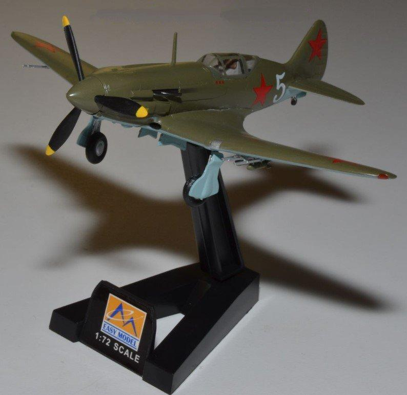 Easy Model Aircraft 1/72 MIG-3 Porkryshkin 1941/1942 - Assembled