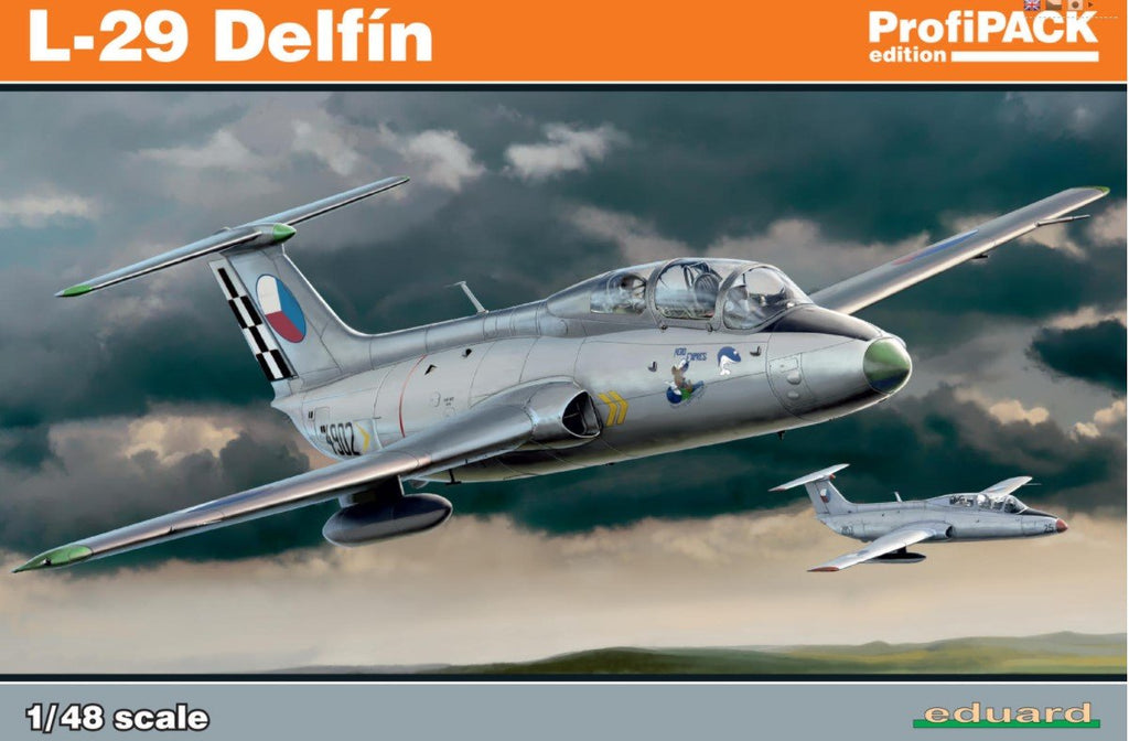 Eduard Aircraft 1/48 L29 Delfin Aircraft Profi-Pack Kit