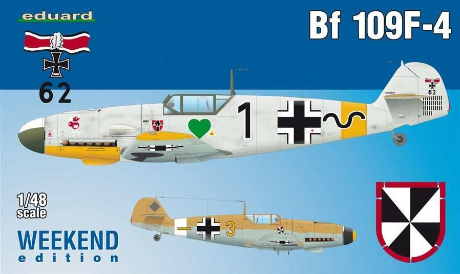 Eduard Aircraft 1/48 Bf109F4 Fighter Wkd Edition Kit