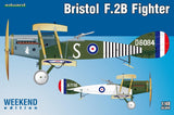 Eduard Aircraft 1/48 Bristol F2B British BiPlane Fighter Wkd Edition Kit