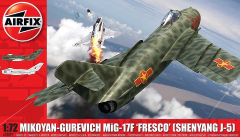 Airfix 1/72 MiG17 Fresco Fighter Kit