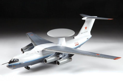 Zvezda Aircraft 1/144 Beriev A50 Mainstay Airliner (Partial New Tool) Kit