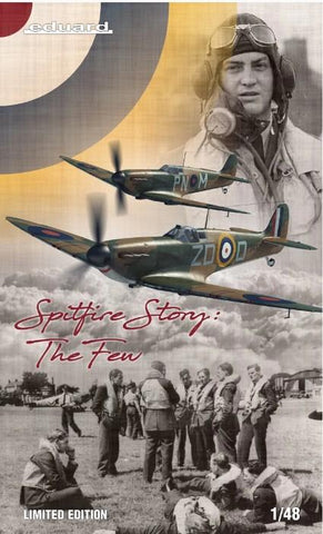 Eduard Aircraft 1/48 The Spitfire Story Aircraft Ltd Edition Kit