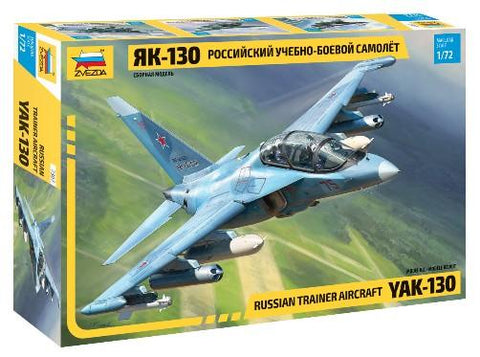 Zvezda 1/72 Russian YaK130 Trainer Aircraft Kit