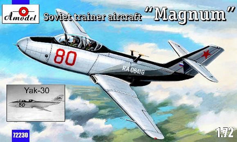 A Model From Russia 1/72 Yak30 Magnum Soviet Trainer Aircraft Kit