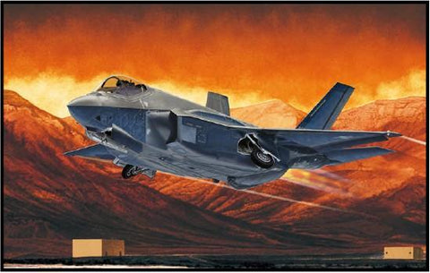 Academy Aircraft 1/72 F35A Seven Nation AF Lightning II Aircraft Kit