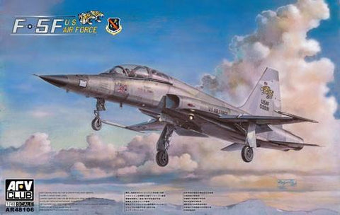AFV Club Aircraft 1/48 F5F Tiger II 2-Seater USAF Tactical Combat Trainer/Fighter Kit