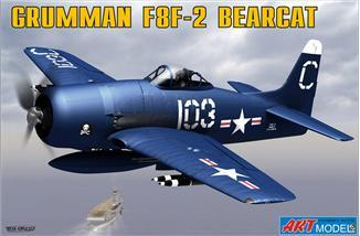 Art Model Aircraft 1/72 F8F2 Bearcat USN Fighter Ltd. Edition Kit