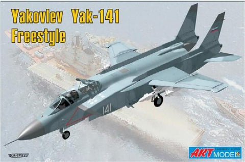 Art Model Aircraft 1/72 YaK141 Freestyle Soviet Fighter Kit