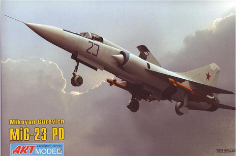 Art Model Aircraft 1/72 MiG23PD 1st Prototype Soviet Aircraft Kit