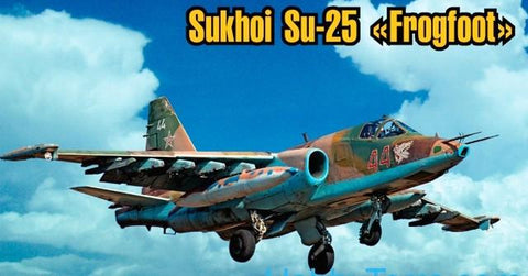 Art Model Aircraft 1/72 Su25 Frogfoot Aircraft Kit