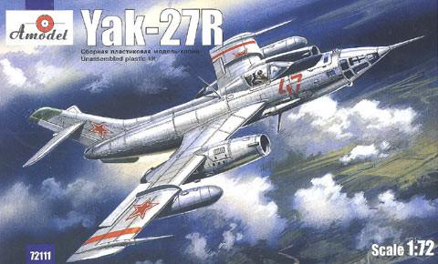 A Model From Russia 1/72 Yak27R Soviet Reconnaissance Plane Kit