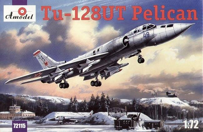A Model From Russia 1/72 Tu128UT Pelican Long-Range Supersonic Patrol Interceptor Kit