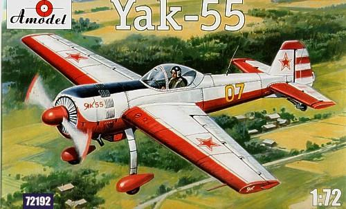 A Model From Russia 1/72 Yak55 Soviet Aerobatic Aircraft Kit