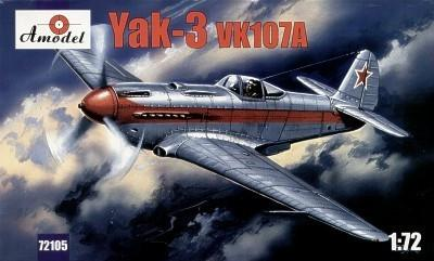 A Model From Russia 1/72 Yak3 VK107 Soviet Fighter Kit