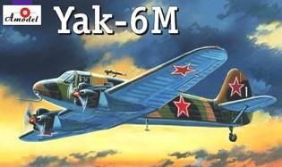 A Model From Russia 1/72 Yak6M Soviet Light Transport Aircraft Kit